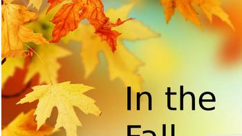 Fall Verb Book