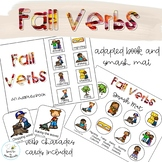Fall Verbs Adapted Books