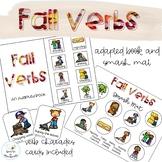 Fall Verbs Adapted Books // Speech Therapy // Grammar
