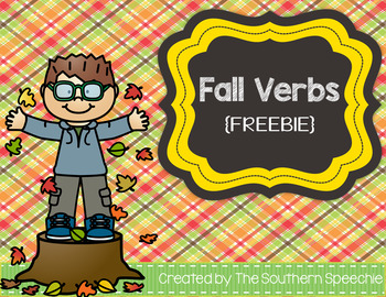 Fall Verbs {Freebie}