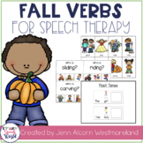 Fall Verbs!  Grammar Activities for Verb Tense & Sentences