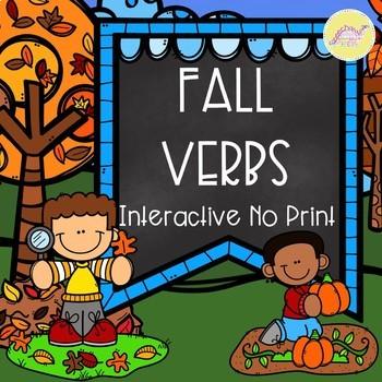 Fall Verbs Interactive No Print