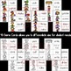 Fall Verbs Matching Game & Poster