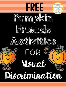 Fall Visual Discrimination Activities