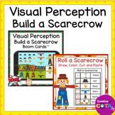 Fall Visual Perception Build a Scarecrow Bundle Printable