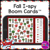 Fall Visual Perception I-spy BOOM Cards for Occupational Therapy