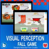 Fall Visual Perception Match Matching SAme or Different Bu