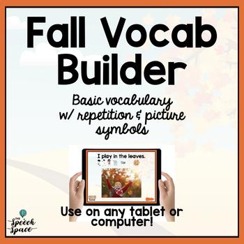 Fall Vocab Builder