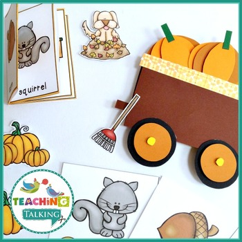 Fall Vocabulary Activities