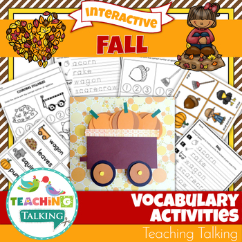 Fall Vocabulary Activities