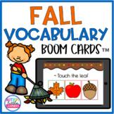 Fall Vocabulary Boom Cards™