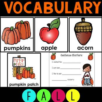 Fall  Work Station Activities for ELA and Writing