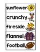 Fall Vocabulary Center