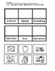Fall Vocabulary Free Sample --  Emergent Readers, Skills W