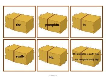Fall Vocabulary Mini Unit