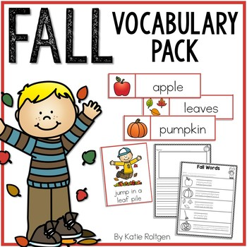 Fall Vocabulary Pack