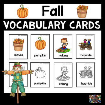 Fall Vocabulary Picture Cards