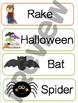 Fall Vocabulary Words