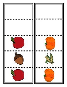 Fall Vocabulary and Mini Unit