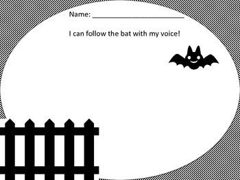 Fall Vocal Exploration Worksheets