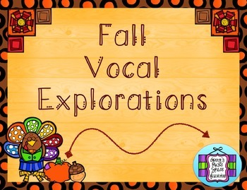 Fall Vocal Explorations