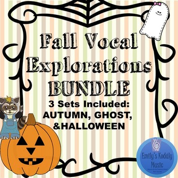 Fall Vocal Explorations Bundle