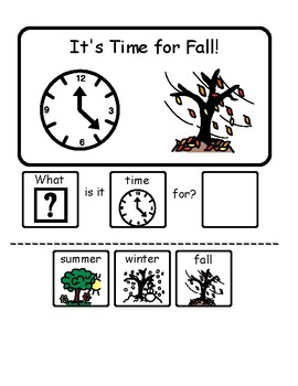 """Fall """"WH"""" Questions."""
