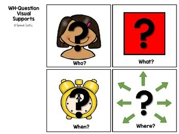 Fall WH-Questions with Visual Supports