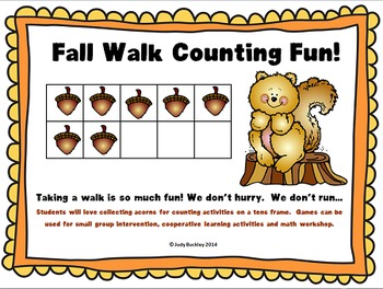 Fall Walk Counting Fun!
