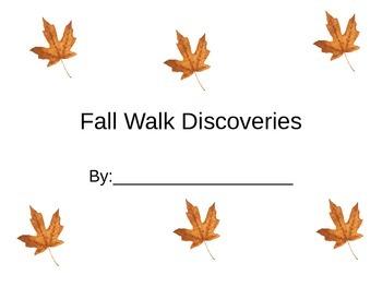 Fall Walk Discovery Book
