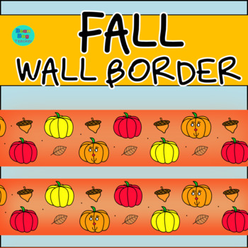 Fall Wall Border / Bulletin Board Display Border