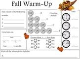 Fall Warm Up