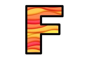 Fall Wavy Lines, Bulletin Board Letters, Classroom Decor, Fall Letters