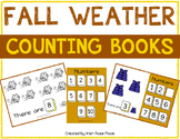 Fall Weather Counting Books (Adapted Books)
