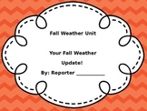 Fall Weather Cross-Curricular Unit
