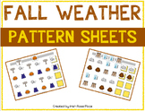 Fall Weather Pattern Mats