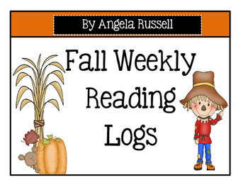 Fall ~ Weekly Reading Logs