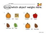 Fall Weighing