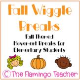 Fall Wiggle Breaks: Fall Themed Movement Breaks for Elemen
