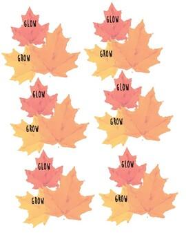 Fall - Winter Glow and Grow
