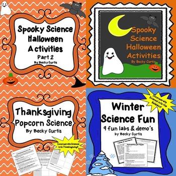 Fall & Winter Science Lab Bundle