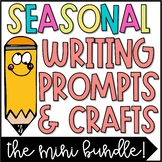 Fall, Winter, Spring & Summer Writing Prompts & Craftivities Bundle