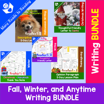 Fall, Winter, and Anytime Writing BUNDLE
