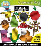 Fall Wooden Block Rods Clipart {Zip-A-Dee-Doo-Dah Designs}