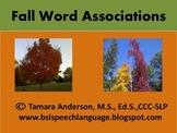 Fall Word Associations