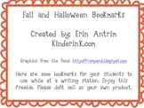 Fall Word Bookmarks