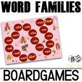 Fall Phonics Activities Board Games (Long A,E,U,O,I)