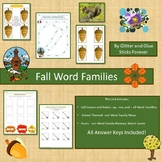 Fall Word Families Unit