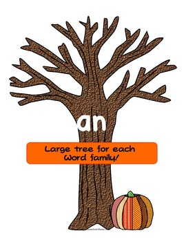 Fall Word Family Bundle - 3 Great Word Family Items!