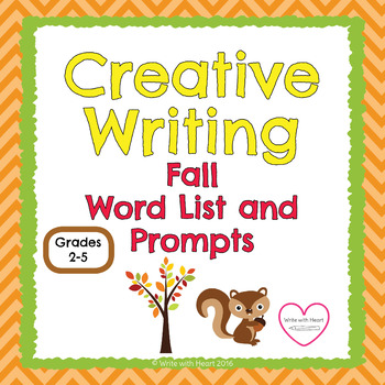 Fall Word List and Prompts